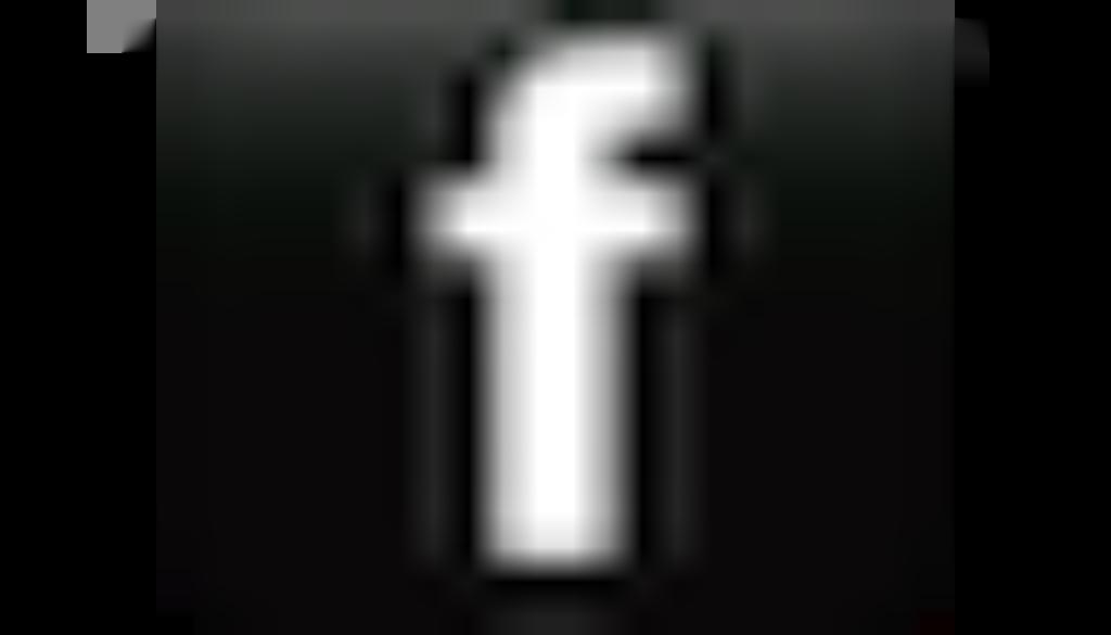 logo facebook noir et blanc