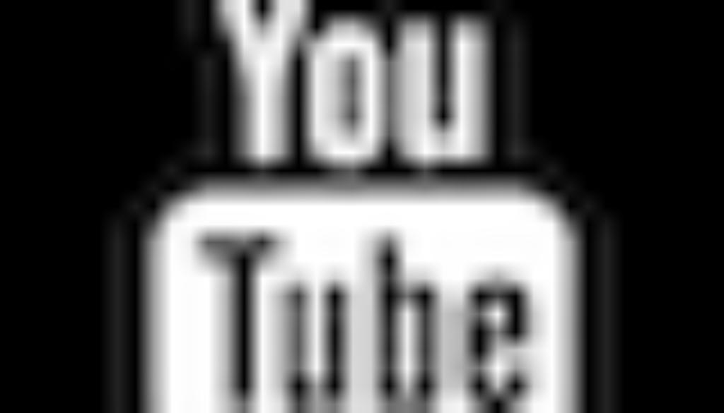 logo youtube noir et blanc 1