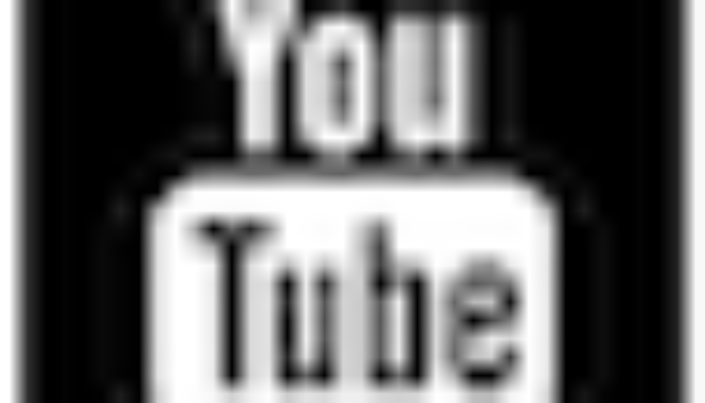 logo youtube noir et blanc 2