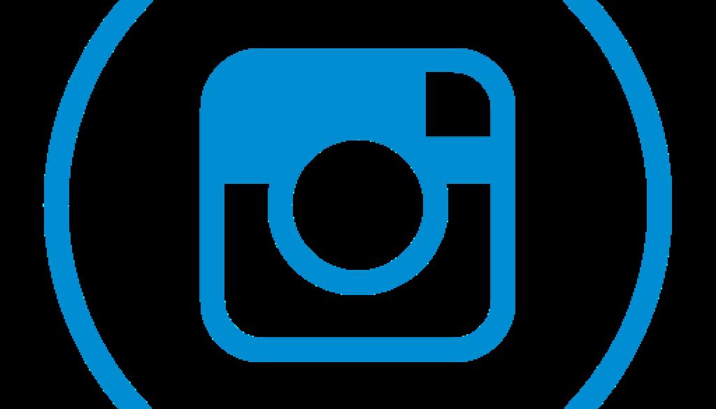Round Instagram Logo Background PNG Image